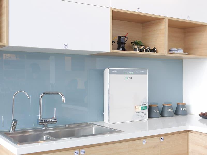 Máy lọc nước A. O. Smith K400: Thiết kế hoàn hảo – đột phá công nghệ – an tâm sử dụng!