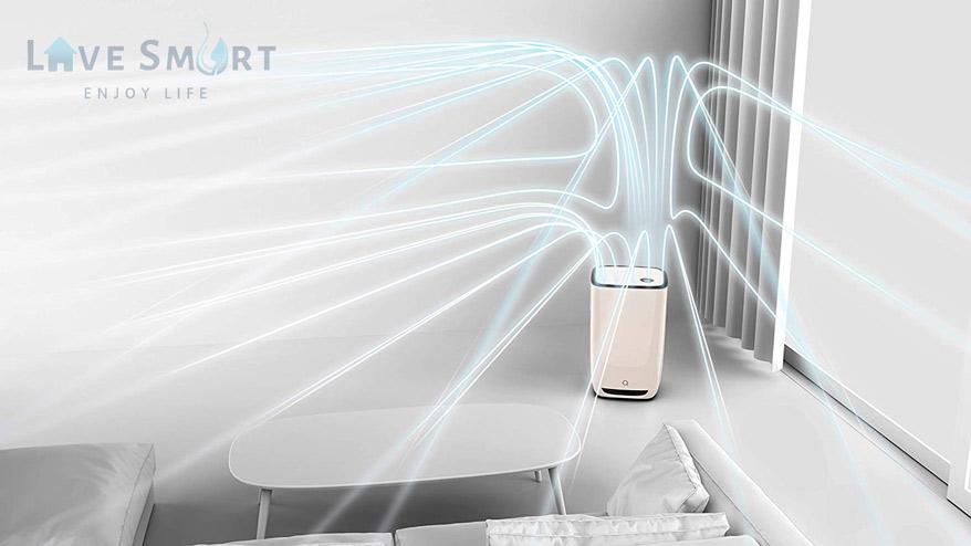 Công nghệ máy lọc không khí Aeris Aair 3-in-1 Pro thân thiện với con người và môi trường