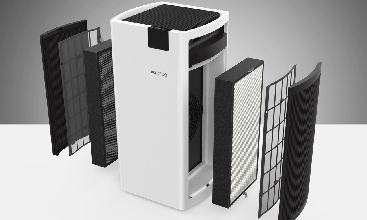 hệ thống lõi lọc hiện đại của P700 giúp loại bỏ vi khuẩn, bụi bẩn, mùi hôi