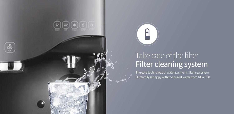 máy lọc nước chungho 700 ice kieur dáng sang trọng