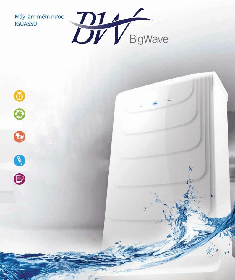 Máy làm mềm nước Chungho Iguassu Bigwave