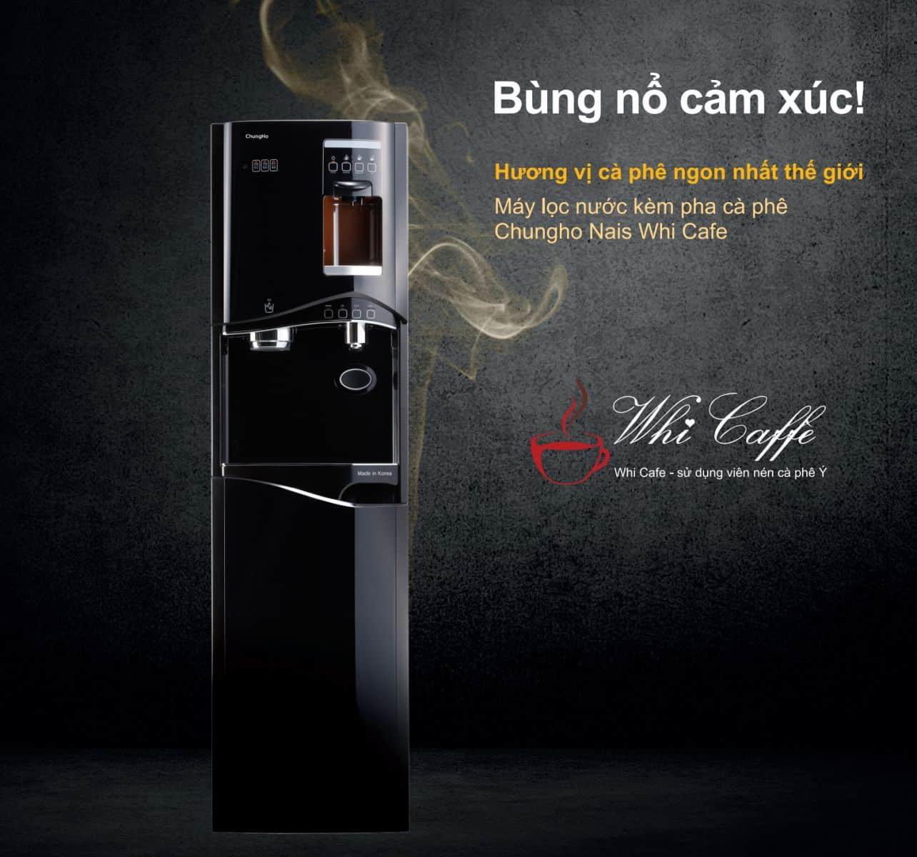 máy lọc nước pha cà phê CHungho