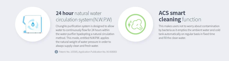 công nghệ tự động làm sạch cho nguồn nước tươi mới mỗi ngày