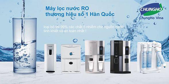 Các model máy lọc nước Chungho