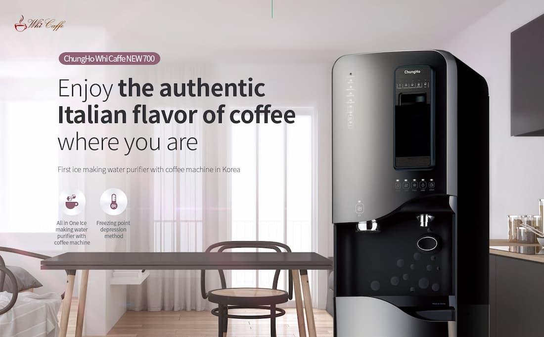 máy lọc nước chungho whi caffe 700