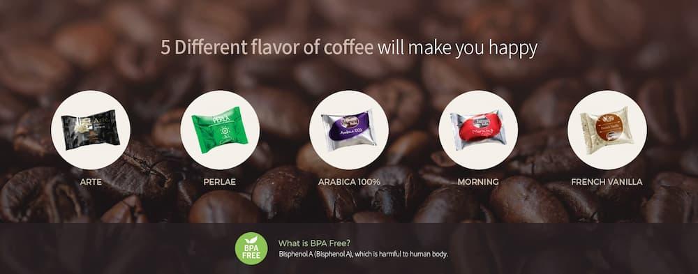 Chức năng pha caffe mang lại hương vị đúng chuẩn