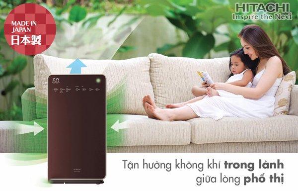 Máy lọc không khí và tạo ẩm Hitachi EP-L110E sản phẩm hoàn hảo cho mọi gia đình