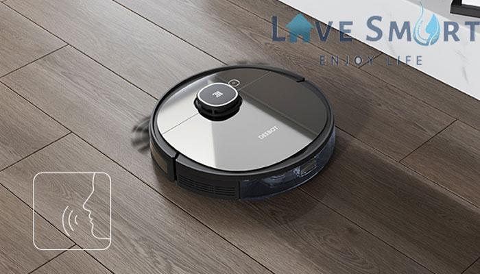 Thông báo bằng giọng nói của robot deebot ozmo 950-dx9g