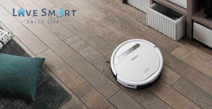 Ưu điểm của robot hút bụi Ecovacs Deebot Ozmo 610
