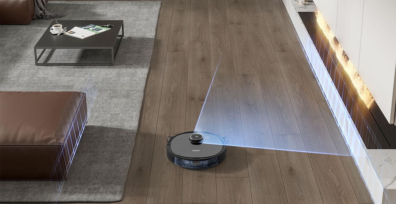 hệ thống quét laser cho phép xây dựng bản đồ di chuyển thông minh