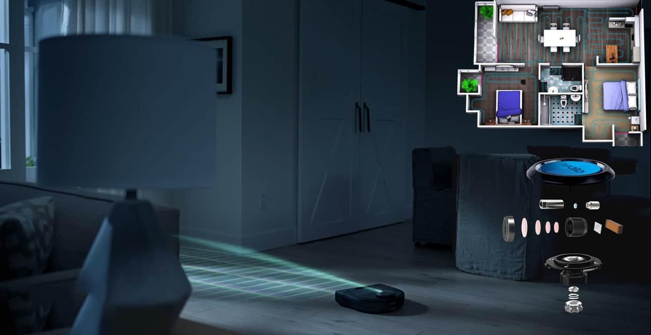 Hệ thống Laser thông minh giúp D4 xây dựng đường di chuyển hiệu qu
