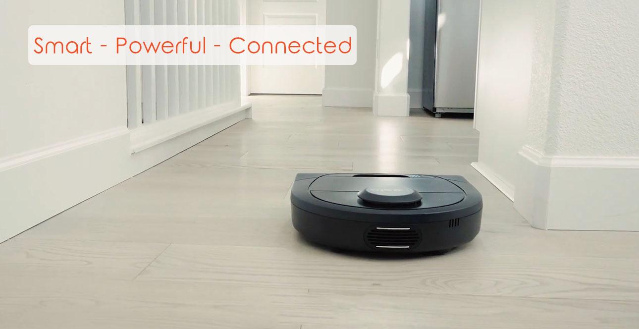 Thiết kế độc đáo của Robot hút bụi thông minh Botvac D4 Connected