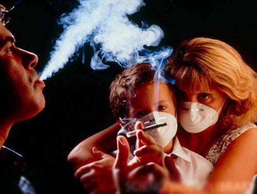 không hút thuốc trong nhà