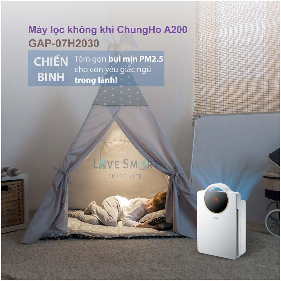 5 máy lọc không khí tốt nhất cho phòng ngủ 15-20m2