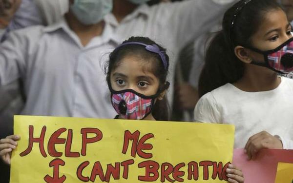 ô nhiễm ảnh hưởng tới trẻ em